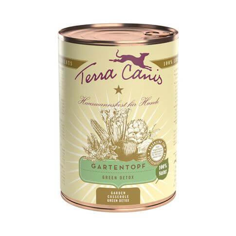 Terra Canis Gartentopf mit Green Detox