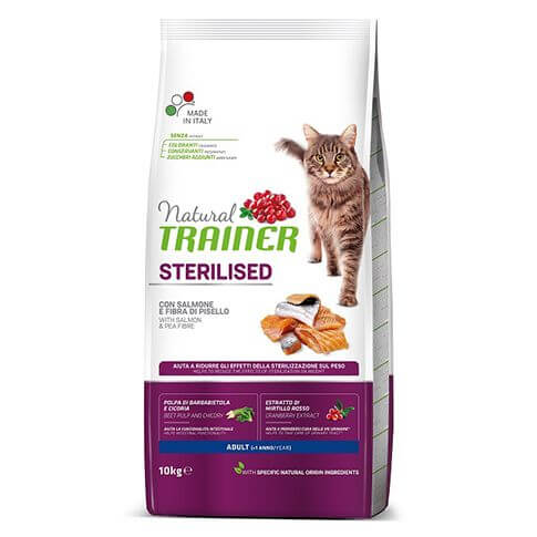 Trainer Natural Adult Sterilised mit Lachs