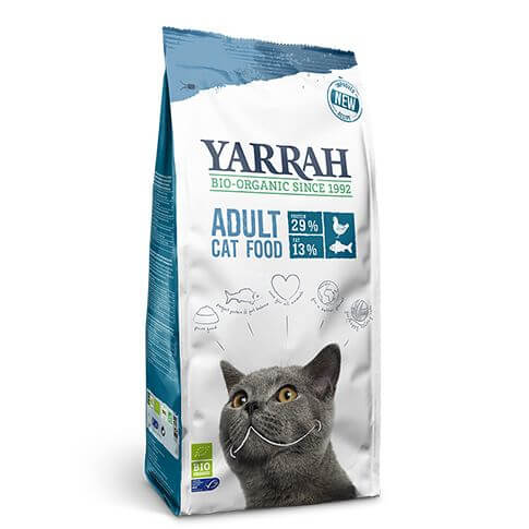 Yarrah Adult Fisch Cat Food