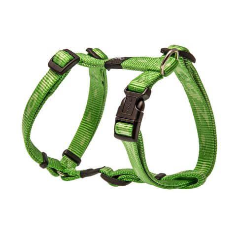 Rogz Hundegeschirr Alpinist grün