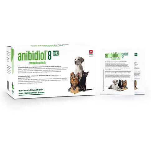 anibidiol® 8 plus für Hunde und Katzen