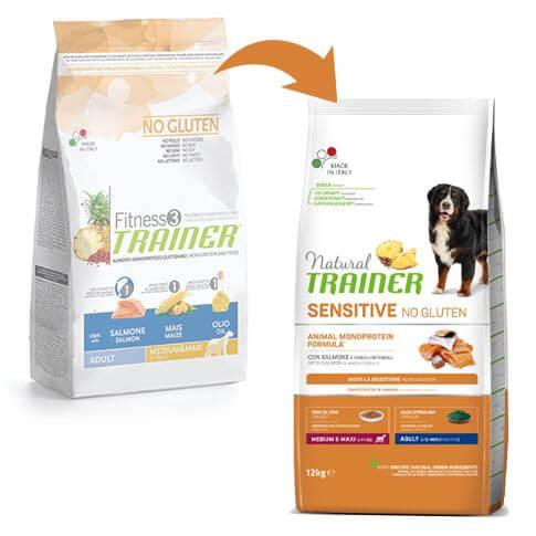Sensitive Dog Adult Medium & Maxi mit Lachs