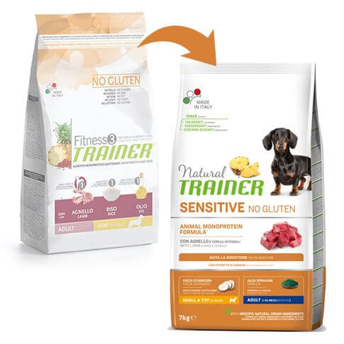 Sensitive Dog Adult Mini mit Lamm
