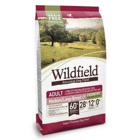 Wildfield Adult Country Medium Large mit Schwein, Kaninchen & Banane