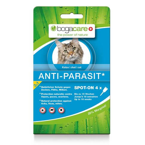 Bogacare® Antiparasit Spot-on Katze