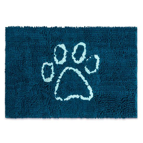Dog Gone Smart Dirty Dog Doormat pazifik blau