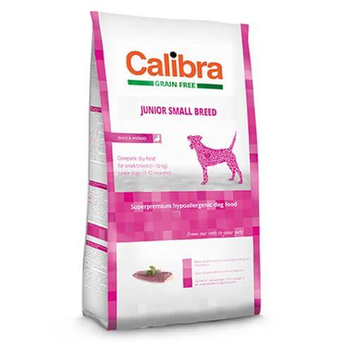 Superpremium Dog Junior Grain Free Small Breed Ente & Kartoffel
