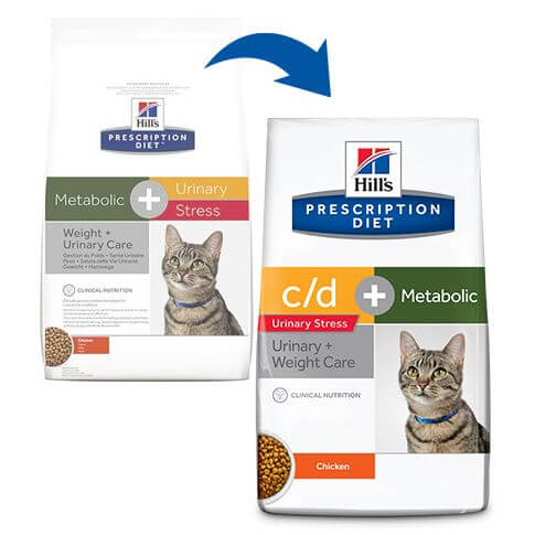 Hill's Feline c/d Urinary Stress + Metabolic