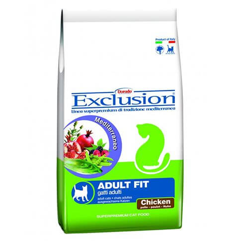 Exclusion Mediterraneo Cat Adult Fit mit Huhn