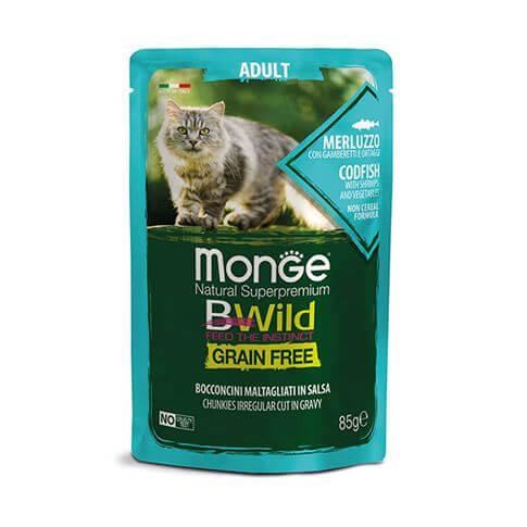 Monge Cat Bwild GF Adult Codfish