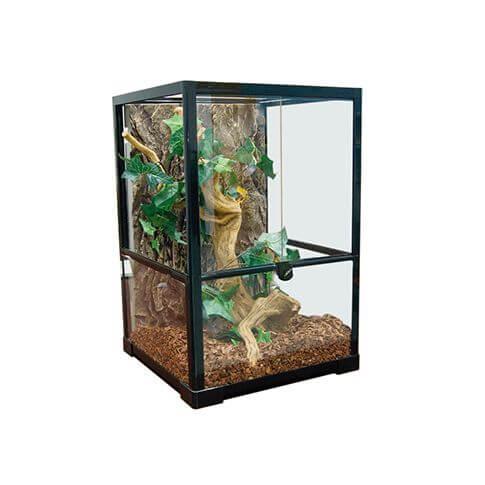 Amazonas Glas-Terrarium T-40 schwarz
