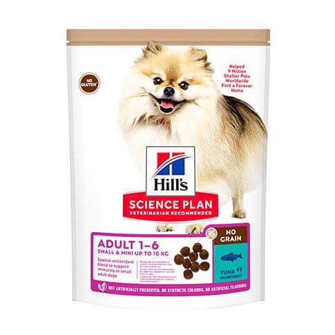 Hill's Science Plan No Grain Small & Mini Hund Adult Huhn
