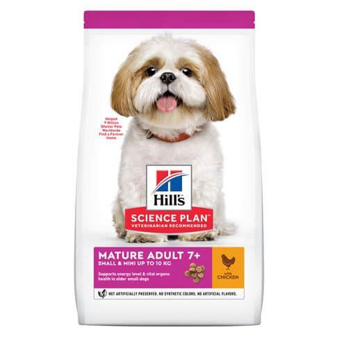 Hill's Science Plan Hund Mature Adult 7+ Small & Mini Huhn