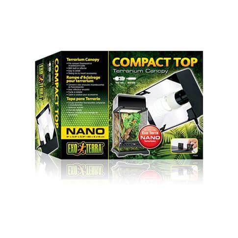 Exo Terra Terrarienlampen-Abdeckung Compact Top Nano