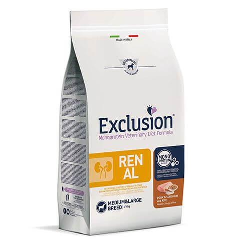 Exclusion Diet Renal Adult Medium & Large mit Schwein & Reis