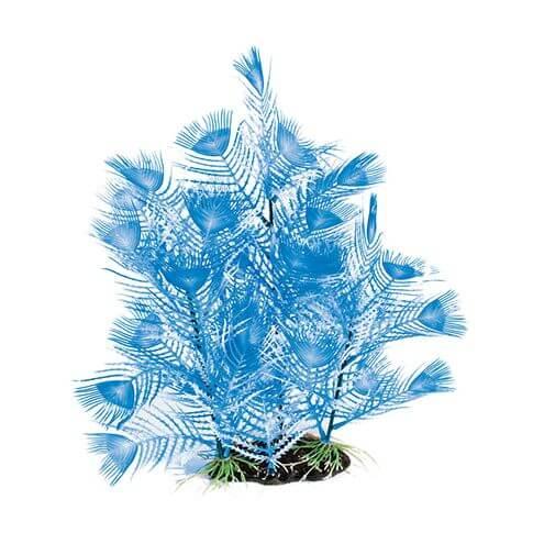 Kunststoffpflanze Fantasy Plant AL blau