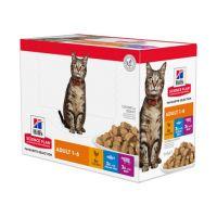 Hill's Science Plan Katze Adult Multipack - Beutel