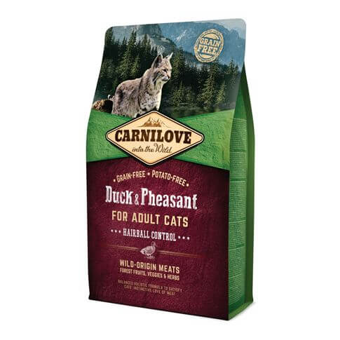 Cat Adult Hairball Control Ente & Fasan