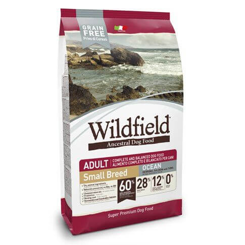 Wildfield Adult Ocean Small Breed mit Lachs, Thunfisch & Banane