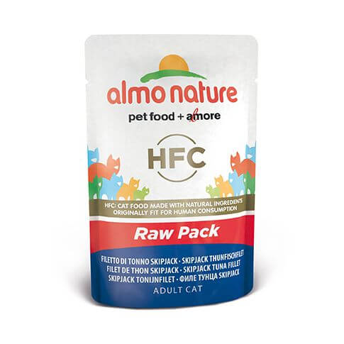 Almo Nature HFC Raw Pack Skip Jack Thunfischfilet