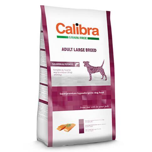 Superpremium Dog Adult Grain Free Large Breed Lachs & Kartoffel
