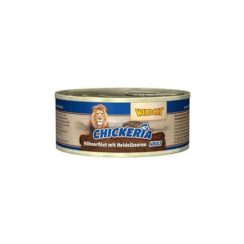 Wildcat Chickeria Hühnerfilet & Heidelbeeren Nass