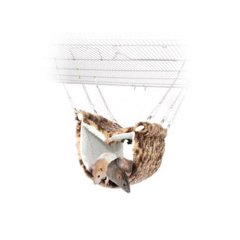 Spielhöhle Deluxe Faux Fur