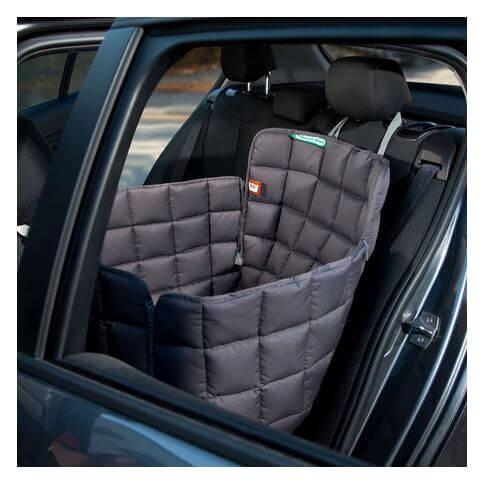 Doctor Bark 1-Sitz Autoschondecke grau