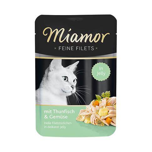 Miamor Feine Filets mit Thun & Gemüse