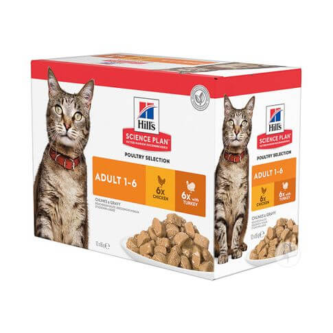 Hill's Science Plan Katze Adult Multipack