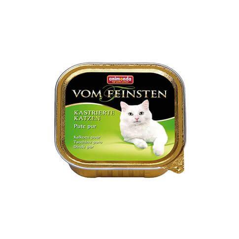 Vom Feinsten mit Pute pur für kastrierte Katzen