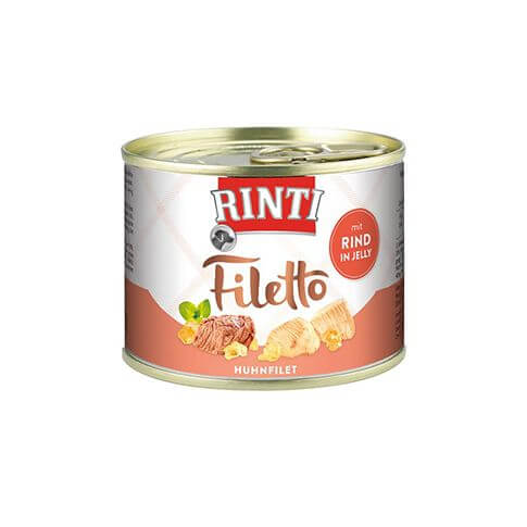 Rinti Filetto Huhn & Rind in Jelly