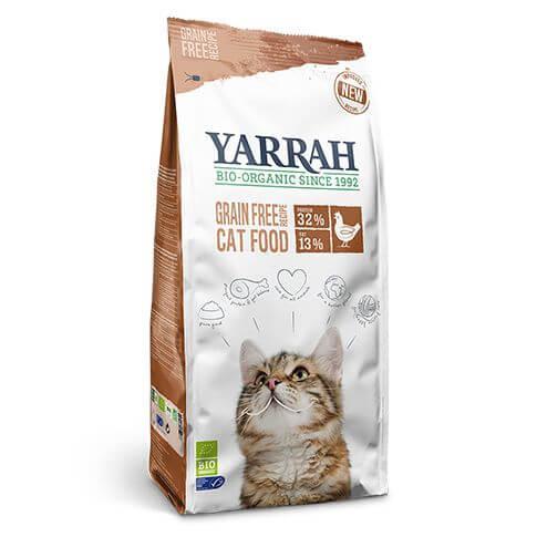 Yarrah Grainfree Cat Food Huhn & Fisch