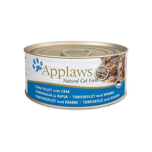 Applaws Thunfisch Filet & Krabbenfleisch
