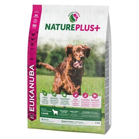 Eukanuba Nature Plus Junior Lamm