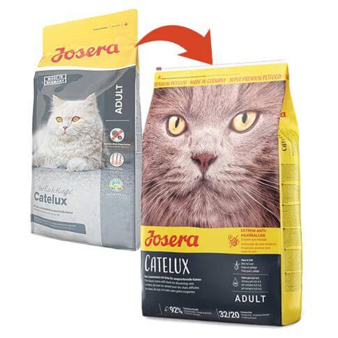 Trockenfutter für Katzen zur Vorbeugung von Haarballenbildung