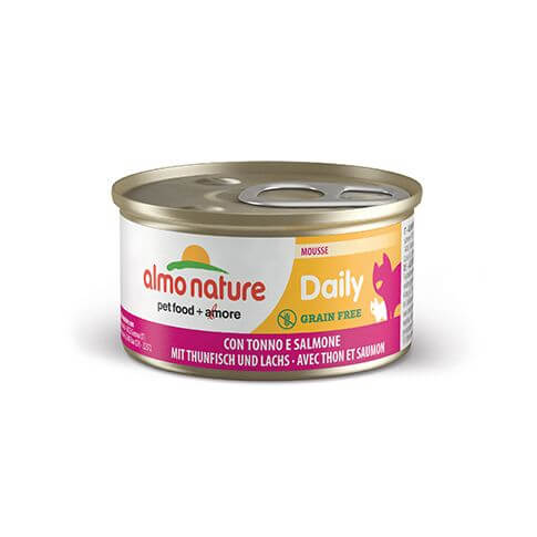Almo Nature Dailymenu Mousse Thunfisch & Lachs