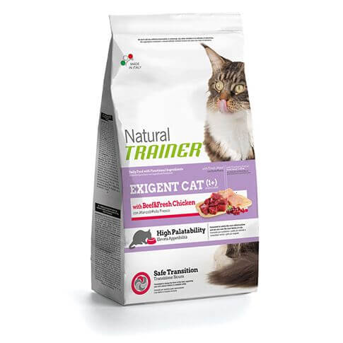 Trainer Natural Exigent Cat with Beef&Fresh Chicken