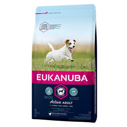 Eukanuba Active Adult Small mit Huhn