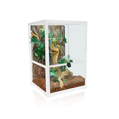 amazonas glas terrarium t 40 weiss online im shop kaufen. Black Bedroom Furniture Sets. Home Design Ideas
