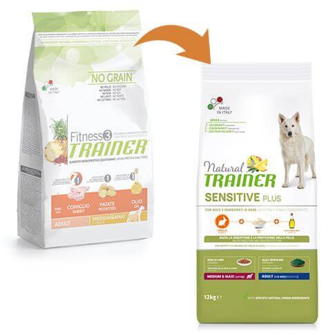 Sensitive Plus Dog Adult Medium & Maxi mit Kaninchen