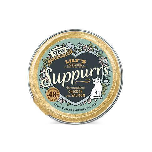 Suppurs Adult Huhn & Lachs für Katzen