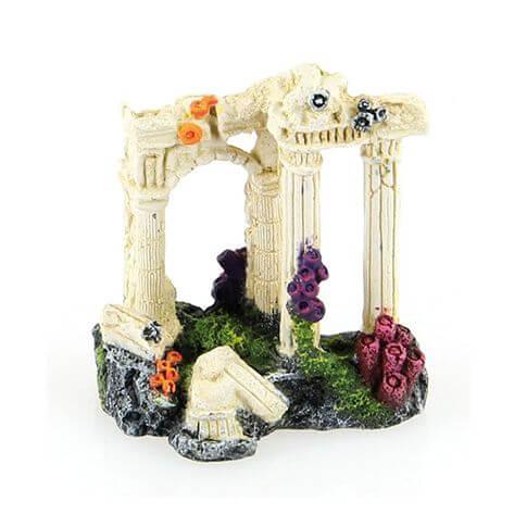 Aquarium-Deko Antike Säulen