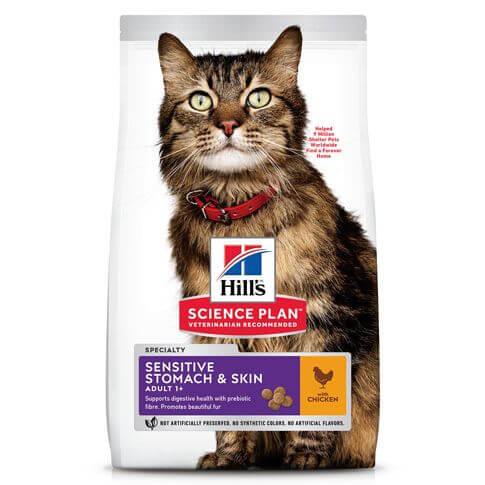 Hill's Science Plan Katze Adult Sensitive Stomach & Skin