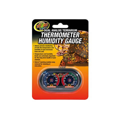 Zoo Med Thermo- & Hygrometer