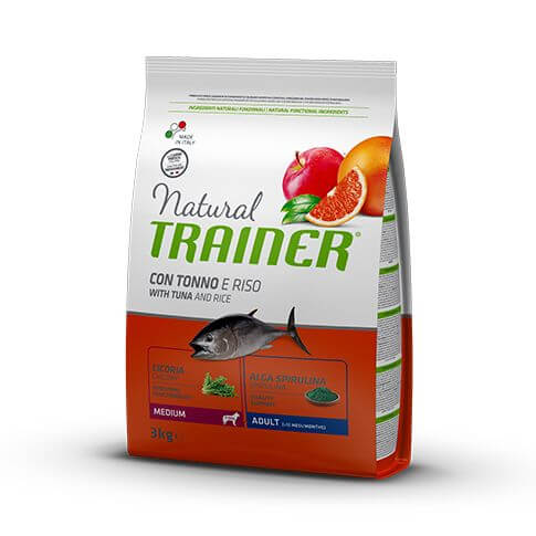 Trainer Natural Dog Adult Medium with Tuna and Rice