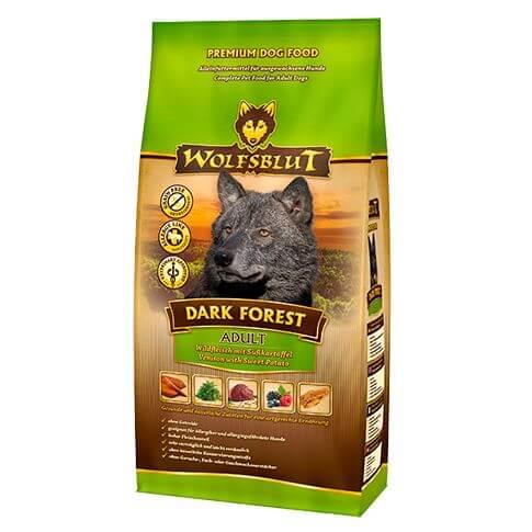 Wolfsblut Dark Forest Adult Wild & Süsskartoffel