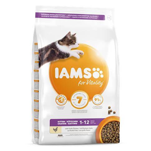 IAMS for Vitality Kitten Chicken