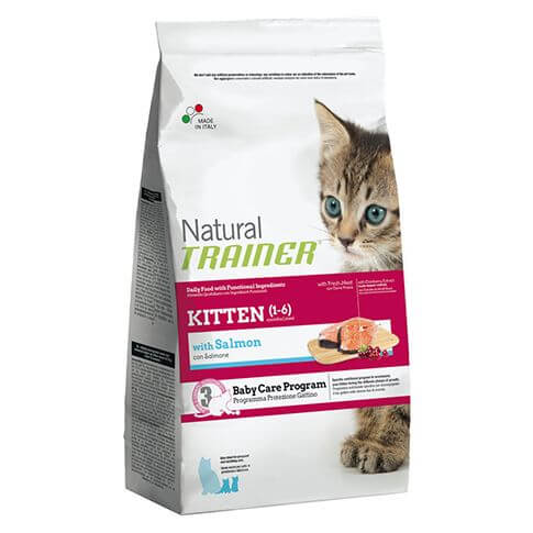 Trainer Natural Kitten with Salmon