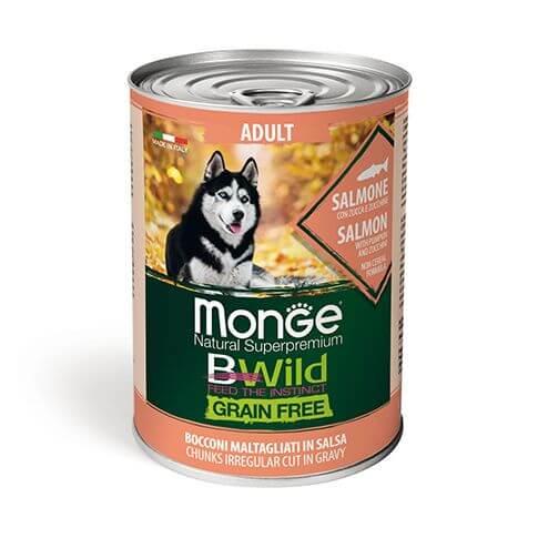 Monge Dog BWild Wet Adult Salmon